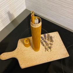 Бамбуковая трубка для хранения